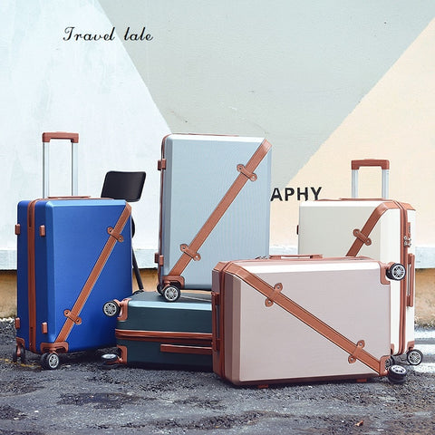 "Travel Tale High Quality  Fashion Abs Rolling Luggage Spinner Brand Travel Suitcase 20""/24""/26""/22"""