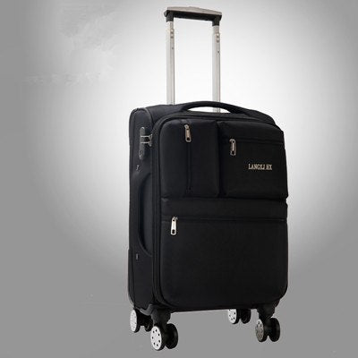 Universal Wheels Luggage20 22 24 26 28 Oxford Fabric Travel Luggage,Male And Female Large