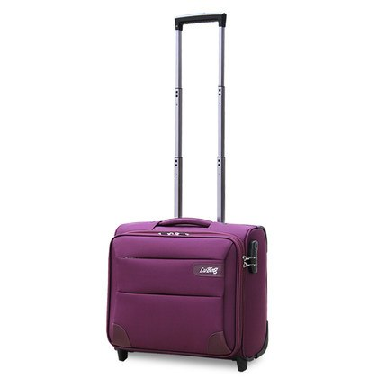 Wholesale!14 16 18 20Inches Mini Commercial Fixed Caster Trolley Luggage,Male And Female Oxford