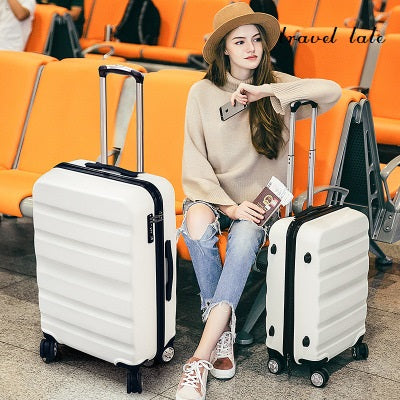 "Travel Tale Leisure High Quality 20""/24"" Pc Business Rolling Luggage Spinner Brand Travel Suitcase"
