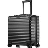 Good Quality 18 Inches Computer Trolley Case Business Password Boarding Boxes Casters Luggage