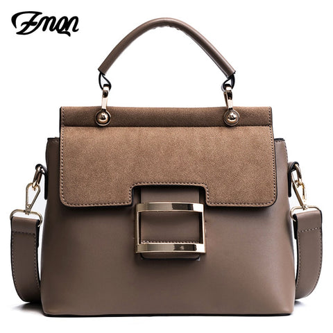 Zmqn Women Bag Vintage Shoulder Bags 2018 Buckle Pu Leather Handbags Crossbody Bags For Women