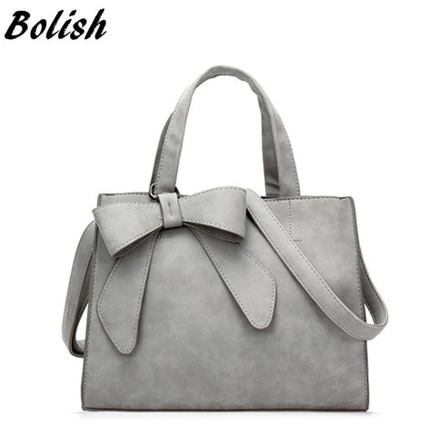 Bolish Drop Shipping Vintage Shoulder Bag Female Causal Handbag Lady Daily Shopping Crossbody Bag