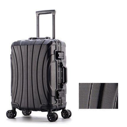 Aluminum Frame Luggage Bag Set,New Travel Suitcase With Spinner Rolling,Trolley Case Carry-On