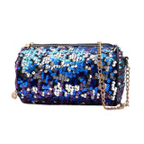 Fashion Women Sequins Leather Crossbody Bag Coin Bag Phone Bag Shoulder Bag