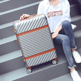 "20""22""24""26"" Inch Rolling Luggage Bag,Travel Suitcase,Wheel Trunk,Trolley Case Valise,Universal"