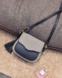 Free Shipping, 2018 New Trend Women Handbags, Retro Simple Flap, Fashion Shoulder Bag, Tassel
