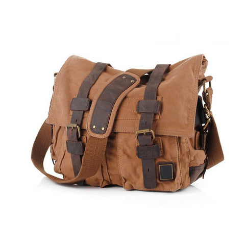 Love Vintage Canvas Handbag Travel Bag Shoulder Messenger Bag For Women And Men 5 Colors 88