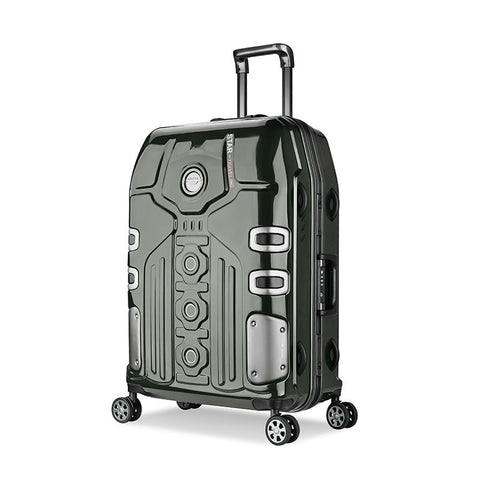 3 Size Aluminum Frame Spinner Luggage Carry-On Cabin Tsa Scratch Resistant Travel Trolley Rolling