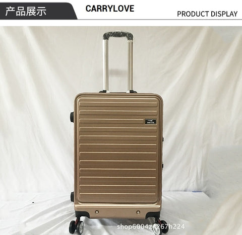 Carrylove Business Luggage Series 20/22/24Inch Size Aluminum Frame Pc Rolling Luggage Spinner Brand