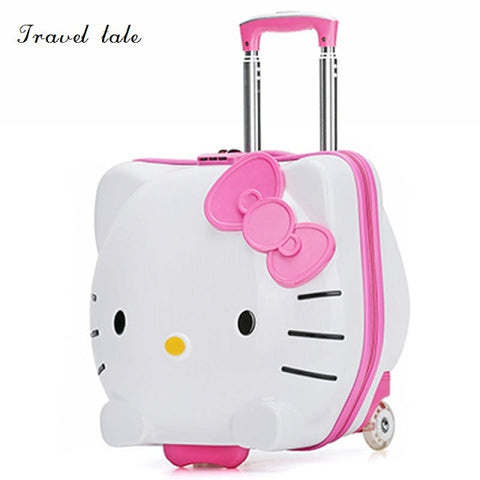 Travel Tale Tk Lovely, Beautiful Abs 19 Inch Size Rolling Luggage Spinner Brand Travel Suitcase