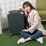Travel Tale Fashion Password Restoring Ancient Ways Abs+Pc 14/20/22/24/26 Inch Size Rolling Luggage