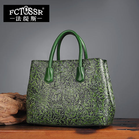 Shell Women'S Handbags Hand Painted Genuine Leather Shoulder Bag 2018 Female Painting Messenger