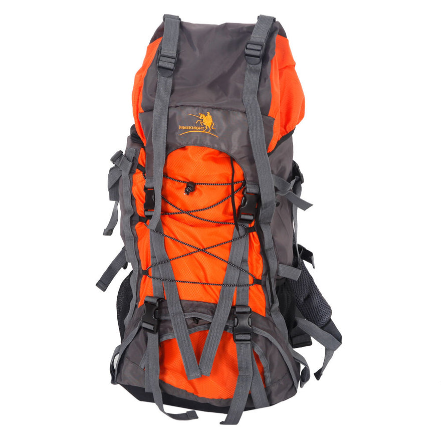 Free Knight Sa008 60L Outdoor Waterproof Hiking Camping Backpack Yellow