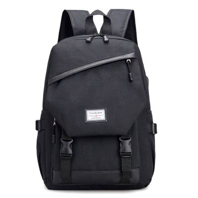 Men Usb Backpack  Large Capacity Carry On Luggage Bag Nylon Travel Duffle  Overnight Weekend Bags