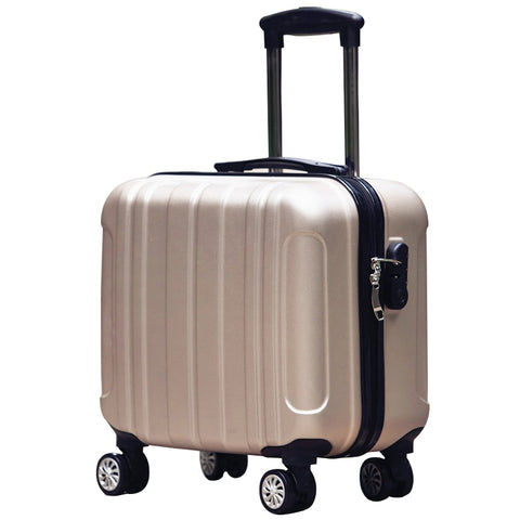 Universal 16 Luggage Wheels Password Box Female Mini Commercial Computer Luggage Trolley Luggage