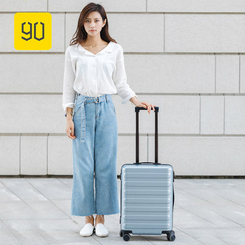 Xiaomi 90Fun Business Travel Dual Function Rolling Luggage With Lock Spinner Pc Suitcase Trolley