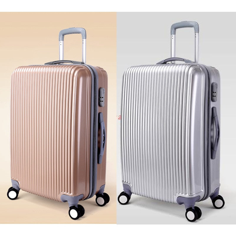 Travel Luggage Spinner Wheels Suitcase Clothing Carry On Business Rolling Trolley Luggage Case