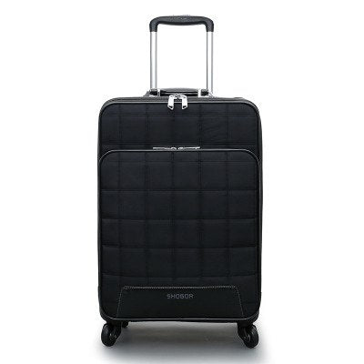 Carrylove 2018 Business Luggage 16/20/24 Size Fashion Pu Rolling Luggage Spinner Brand Travel