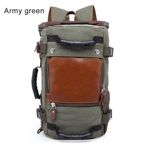 Stylish Travel Large Capacity Backpack Male Luggage Computer Backpacking Functional Versatile