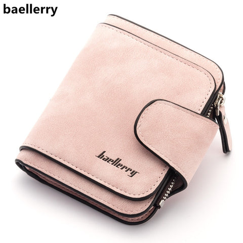 Baellerry New Lady'S Wallet 2018 Luxury Brand Wallet Women Scrub Leather Female Wallets Purse For