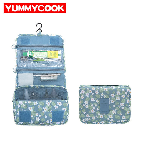Women'S Travel Makeup Storage Bag Ladies Girls Hanging Cosmetic Wash Pouch Organizer Wholesale