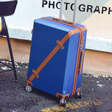 Vintage Rolling Luggage Bag,Travel Suitcase With Wheel ,Women Trolley Case,Men Universal Wheel