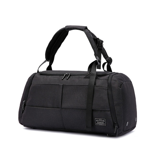 Myosazee Brand High Capacity Travel Bag Men Leisure Business Multifunction Rusksack Male Fashion