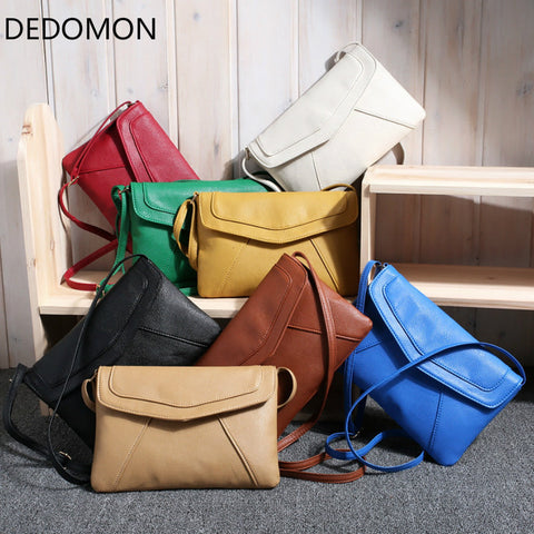Small Bags For Women 2018 Messenger Bags Leather Female Newarrive Sweet Shoulder Bag Vintage