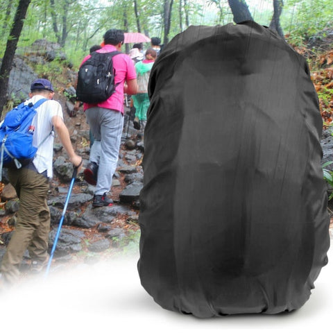 Backpack Raincoat Suit For 30-40L Waterproof Fabrics Rain Covers Anti-Theft Camping Hiking