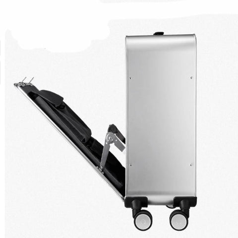 100% All Aluminium alloy Luggage Hardside Rolling Trolley Luggage TSA Travel Suitcase 20 Carry on Luggage 24 Checked Luggage