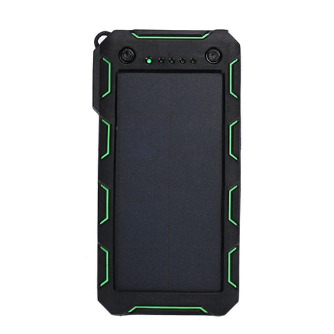 Dual Usb Mobile Battery Charger Solar Charger Portable Camera Shockproof Solar Power Bank