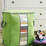 Quilt Storage Bag Portable Clothes Storage Bag Quilt Pillow Blanket Storage Bag Travel Luggage