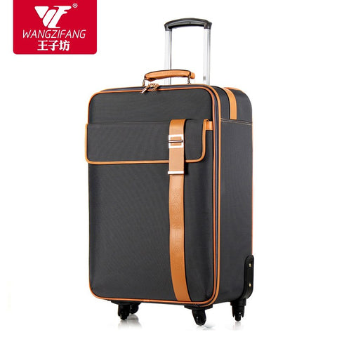 High Quality Simple Fashion Style Travel Luggage Bags On Universal Wheels,Male And Female 21 25Inch