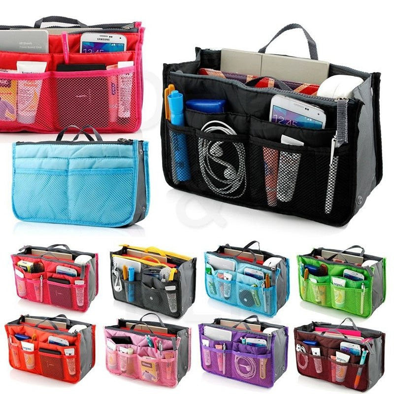 New Women Bag Gadgets Cosmetic Organizer Girls Large Travel Toiletry Polyester Wash Makeup