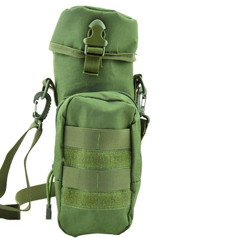 Outdoor Sports Multifunction Ride Water Pack Water Bottle Pouch Tactical Military Pack Bag For