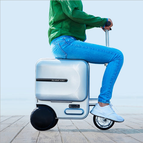 Intelligent Car Luggage Scooter Electric Scooter Electric Bicycle Lithium Battery Collapsible