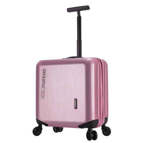 New Fashion 18 Inch Luggage Wheels Password Box Female Commercial Computer Luggage Trolley