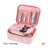 New Cute Printing Cosmetic Storage Bag Women Travel Toiletry Beauty Makeup Case Luggage Organizer