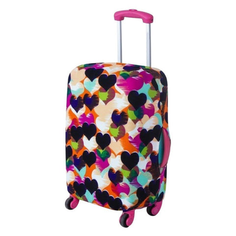 Fashion Printing Style Travel Luggage Cover Protective Suitcase Cover Trolley Case Travel Luggage