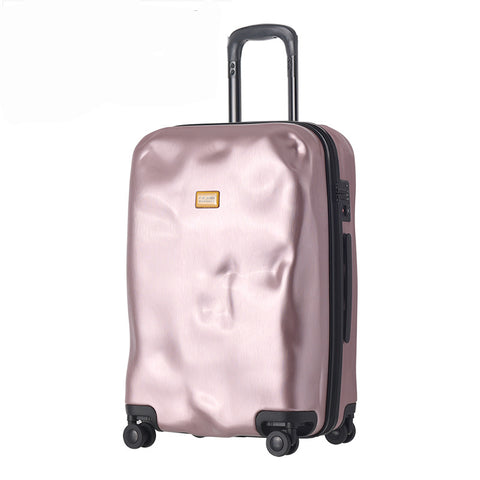 Letrend Fashion Creative Rolling Luggage Spinner Suitcases Wheels Trolley Travel Bag 20 Inch Men