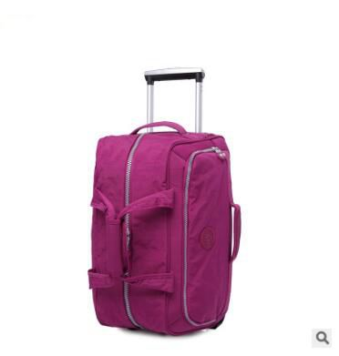 Carry On Luggage Wheels Trolley Bag  Rolling Travel Luggage Bag Travel Boarding Bag With Wheels