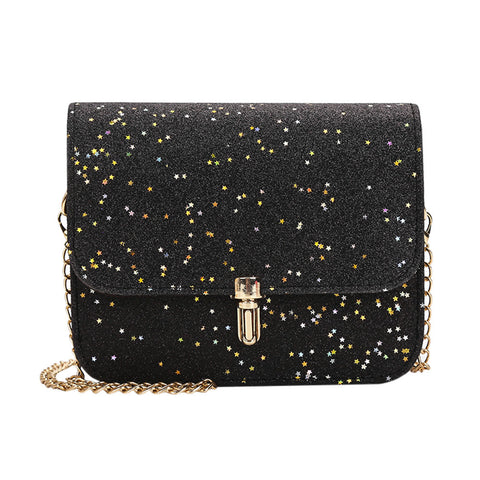Fashion Women Ladies Bags Crossbody Chain Bling Messenger Shoulder Bag Handbag