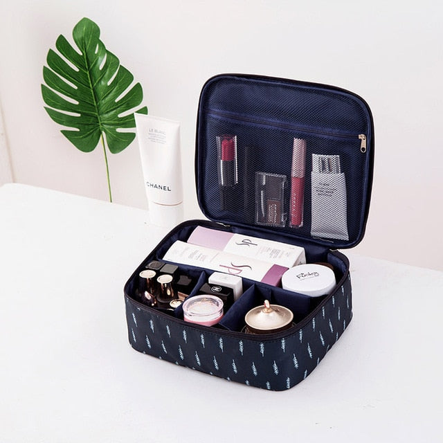 Brand Organizer Travel Fashion Lady Cosmetics Cosmetic Bag Beautician Storage Bags Large Capacity