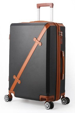 "Vintage Rolling Luggage Bag Wheeled Travel Case 20-28""Women'S Trolley Case Men'S Universal Wheel"
