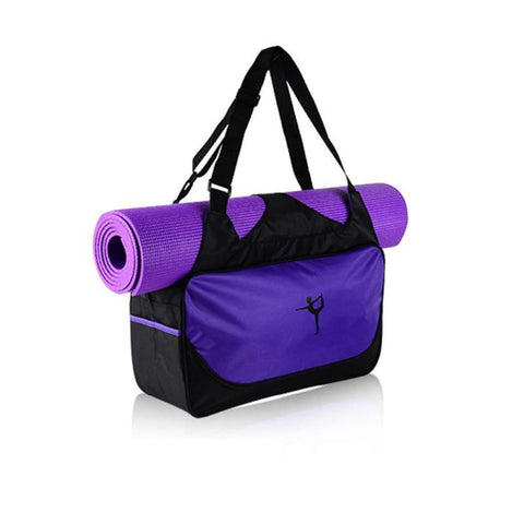 (Without Yoga Mat) Multifunctional Clothes Yoga Bag Gym Mat Bag Yoga Backpack Waterproof Yoga