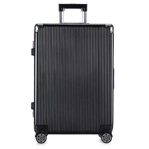 2018 New High-End Aluminum Frame Pc Trolley Case Universal Wheel Men And Women Business Suitcase