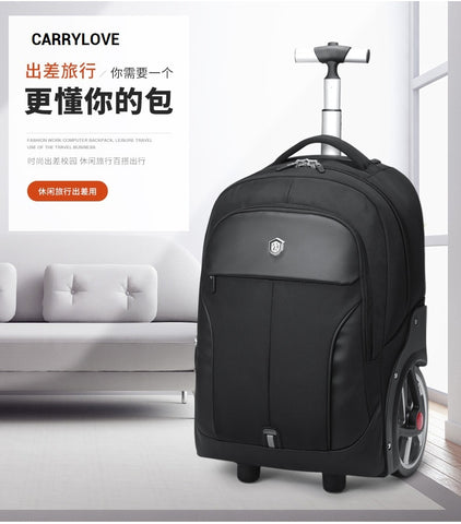 Carrylove Business  Travel Bag 18 Size Boardinglarge Volume Nylon Luggage Spinner Brand Travel