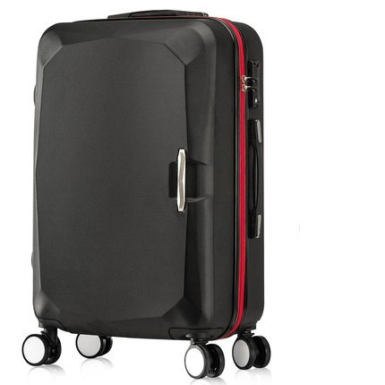Letrend Women Korea Rolling Luggage Spinner Suitcase Wheels Student Trolley 20 Inch Carry On Travel