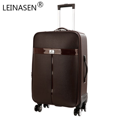 "Oxford Trolley Wheeled Suitcase Business Large Travel Bag 20""-26"" Luggage Bag Men'S / Women'S"